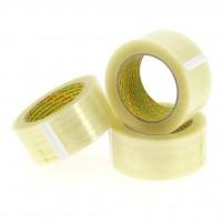 PP verpakkingstape transparant - hotmelt - 3M - 100M x 48mm 28µ