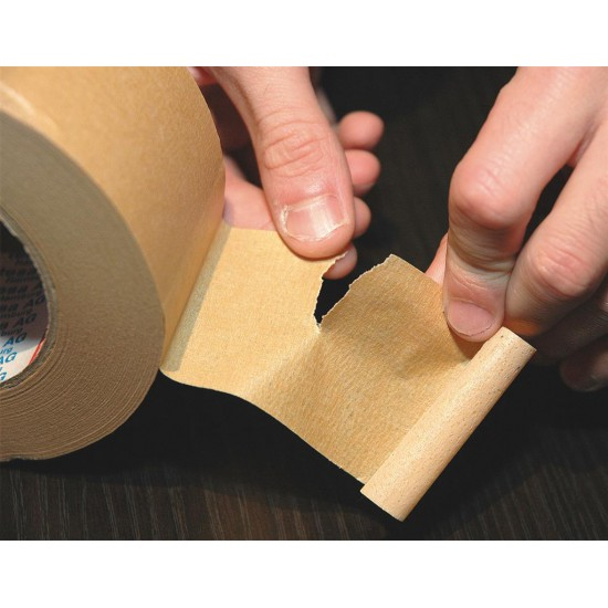 Papieren verpakkingstape bruin - 500M x 48mm