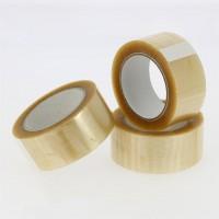 PP verpakkingstape transparant - solvent - 100M x 48mm 28µ