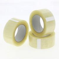 PP verpakkingstape transparant - acryl - geruisloos - 100M x 48mm 28µ